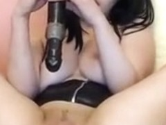 Non- cosplay Cam Girl Female Orgasm Contractions