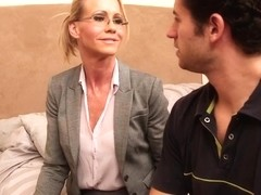 Simone Sonay & Giovanni Francesco in My First Sex Teacher
