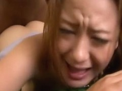 Cute Asian destroyed by two BBC