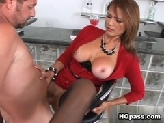 Monique Fuentes, Hunter in Milfs of our lives Movie