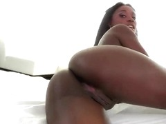 Bonnie Amor teases Michael Vegas with her juicy ass
