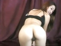 Attractive Jasmine reveals her fantastic ass and her delicious holes