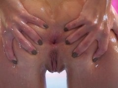 Madelyn Monroe & Mick Blue in Oil And Anal Scene