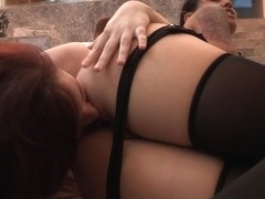 Lesbian Ass Worship & Domination With Dana & Annabelle - CougarsandTeens