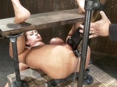 Trina Michaels in Trina MichaelsFormer California Lifeguard is Double Penetrated!! - DeviceBondage