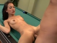 Teen bitch Amia Miley gets her way.