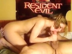 Kinky blonde babe swallows boyfriend's cum after hard anal sex and ass to mouth