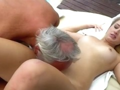 Amateur Teen Fucked And Licked By Grandpa