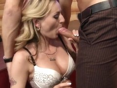 "Sexy blonde Natasha Starr get fucked by judge on ""ZZs Got Talent!"""