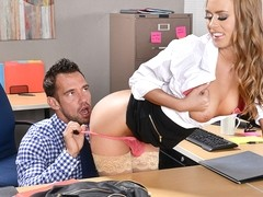 Jill Kassidy  Johnny Castle in NaughtyOffice