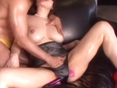 Horny Japanese slut Anri Okita in Crazy Fingering, Squirting JAV movie