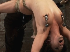 Sexy Girl Next Door Is Bound  Suspended, Stretched To The Limits Of The Human Bodyso Helpless - Ho.