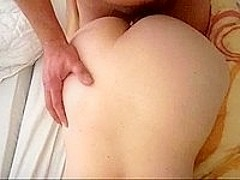 Horny Amateur Anal With Quiet Wife