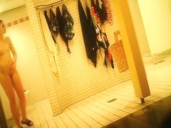 Hidden cam in both genders shower room