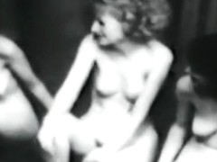 Vintage Nudists! Three Naked Girls