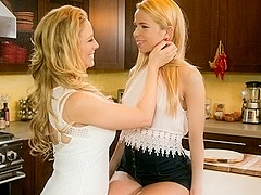 Cherie DeVille & Alina West in Never Too Small Video