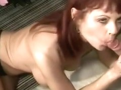 Redhead COUGAR Serenity Fucked In Closet