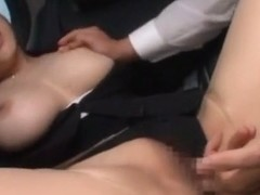 Crazy Japanese whore Anri Okita in Incredible Stockings, Big Tits JAV video