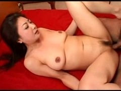 Charming Japanese mother I'd like to fuck hawt love tunnel creampied