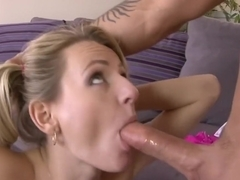 Horny pornstar Natasha Starr in incredible small tits, blonde porn video