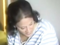 MILF has a threesome with her younger neighbor