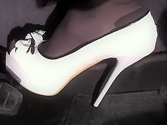 revving with killer high heels