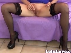 Virtual sex in stockings high heels and Canadian love