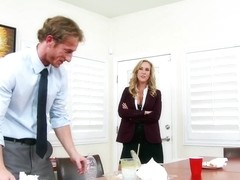 Brandi Love & Ryan Mclane in Naughty Office