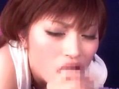 Best Japanese whore Erina Shirase in Fabulous Facial, POV JAV scene