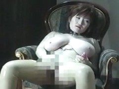 Incredible Japanese model Marina Matsushima in Crazy Big Tits, Fishnet JAV clip