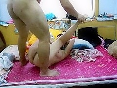 Chinese couple Bigsex in home 2014091701