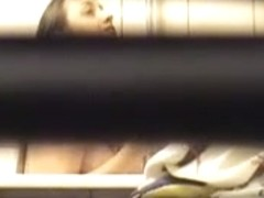 Young friend Magda taking shower - hidden cam - old stuff