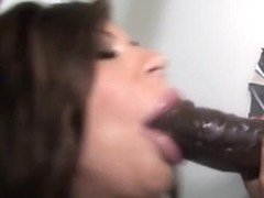 Mason Moore's Mouth And Pussy Gets Stretched - Gloryhole