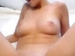 Nice masturbation in the anonymous theatrical character