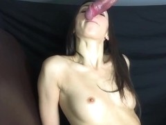 Edged  Blowjob with Dripping Precum and hot