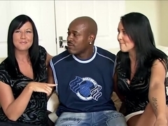 Cuckold British Sisters go black