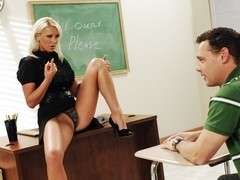 Emilianna & Brad Hardy in My First Sex Teacher