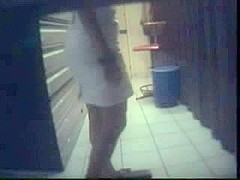 Hidden camera sex at work