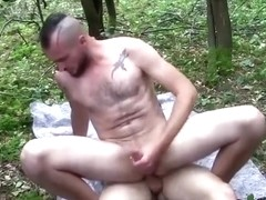 Jerry and Dick Bareback Flip Fuck