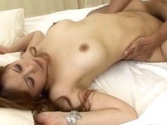 Best Japanese chick Moe Aizawa in Crazy JAV uncensored Threesomes video