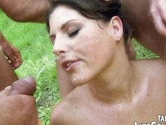 Gangbang with Little perv Riding Hood