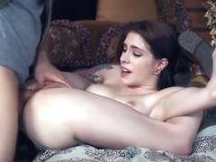 Flexible Anna De Ville getting creampeid