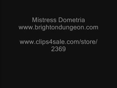 Dominatrix-Bitch Dometria CBT