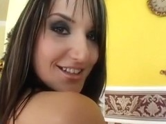 Hottest pornstar Andy Brown in exotic small tits, anal sex movie