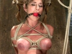 Felony in Part 1 - Felony Live Show - Most Flexible Milf - HogTied