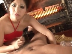 Fabulous Japanese slut Kanade Otowa in Incredible POV, Handjobs JAV clip