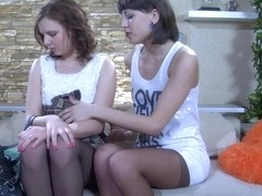 LickNylons Video: Bex and Jean