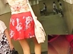 Astonishing lace panty up petticoat of hawt legal age teenager