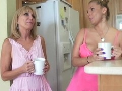 Hot Cougars Play with the Mail Man