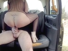 Amber Deen & John in Hot Blonde Loves To Give Rimjobs - FakeTaxi
